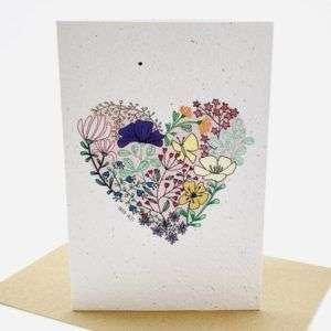 Growing Paper greeting card